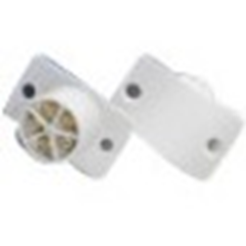 Elmdene QF-5 Cable Magnetic Contact - 16 mm Gap - Flush Mount - White