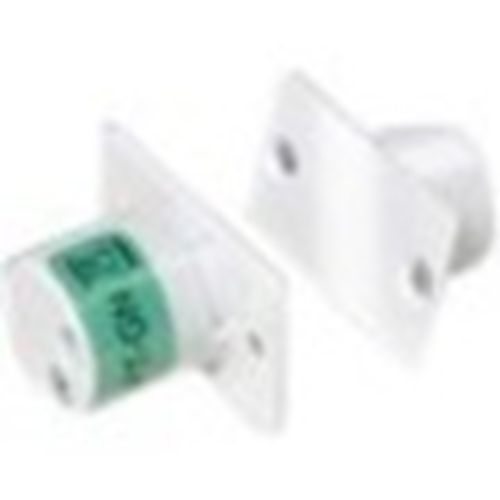 Elmdene QFT Cable Magnetic Contact - 10 mm Gap - For Door - Flush Mount - White