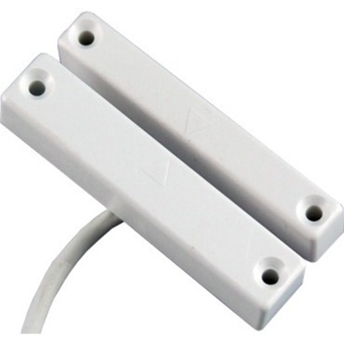 CQR SC513 Cable Magnetic Contact - SPST (N.O.) - 20 mm Gap - For Door - Surface Mount - White