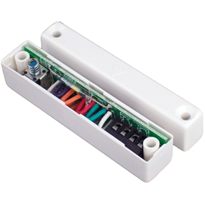 CQR SC517 Magnetic Contact - SPST (N.O.) - 15 mm Gap - For Double Door - Surface Mount - White