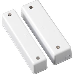 CQR SC550 Magnetic Contact - SPST (N.O.) - 30 mm Gap - For Double Door - Surface Mount - White