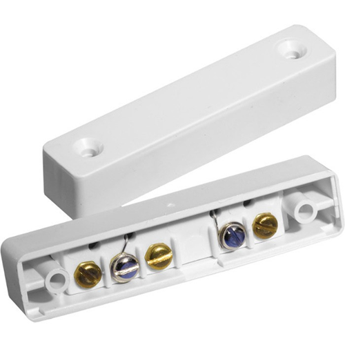 Knight Fire & Security D60 Magnetic Contact - 20 mm Gap - For Door - Surface Mount - White