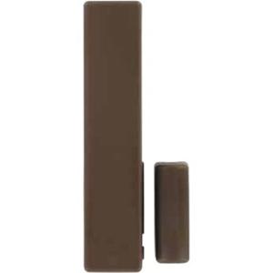 Honeywell Alpha DO800M2 Wireless Magnetic Contact - For Door, Window - Wall Mount - Brown