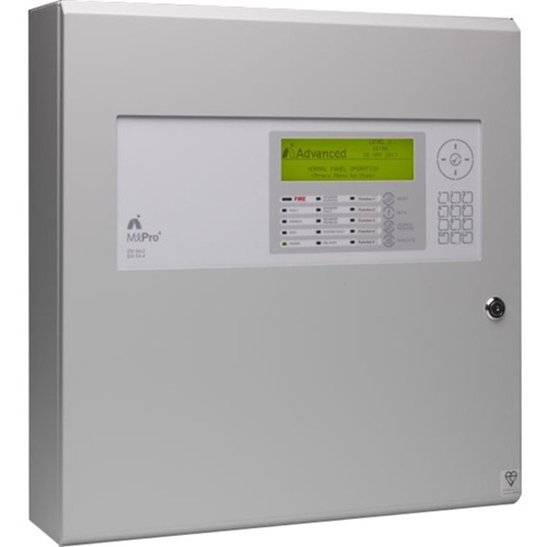 Advanced MxPro 4 MX-4100 Fire Alarm Control Panel - 1000 Zone(s) - LCD - Addressable Panel