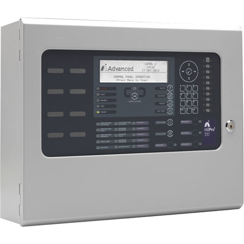 Advanced MxPro 5 MX-5201 Fire Alarm Control Panel - 2000 Zone(s) - LCD - Addressable Panel