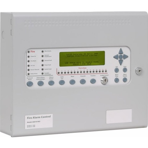 Kentec Syncro AS A80162M2 Fire Alarm Control Panel - 16 Zone(s) - LCD - Addressable Panel
