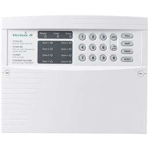 Texecom Veritas 8 Burglar Alarm Control Panel