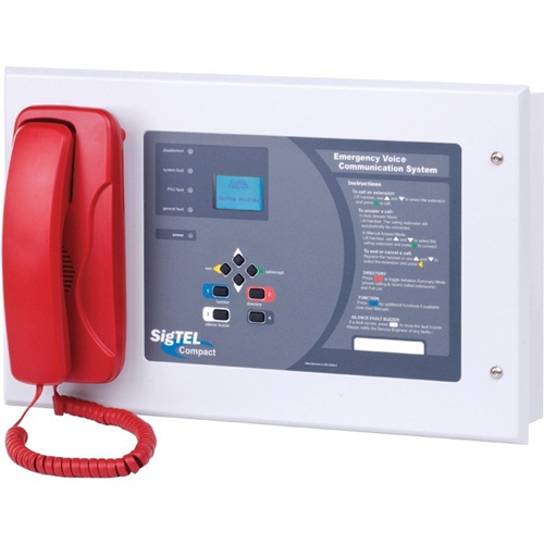 C-TEC SigTEL Fire Alarm Control/Communicator - LCD