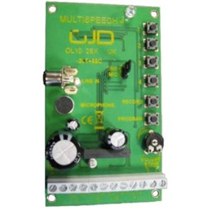 GJD GJD090 Speech Enunciator Module - For Control Panel