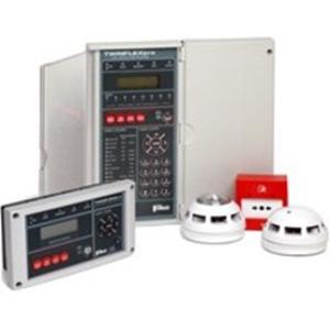 Fike TWINFLEXpro Fire Alarm Control Panel - 4 Zone(s) - LCD