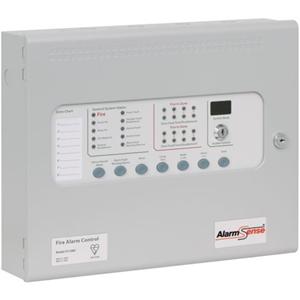 Kentec AlarmSense KA11040M2 Fire Alarm Control Panel - 4 Zone(s)