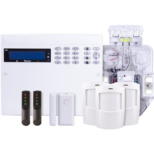 Texecom 48-W LIVE Burglar Alarm Control Panel