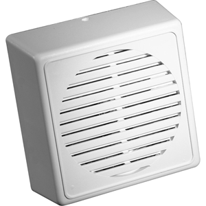 Knight Fire & Security I10 Speaker - White - 0.25 Hz to 8 kHz - 16 Ohm - Surface Mount