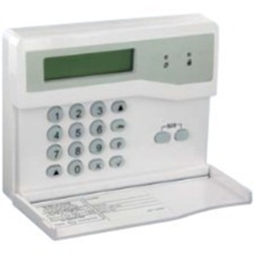 Honeywell Security Keypad - For Control Panel - White - Polycarbonate