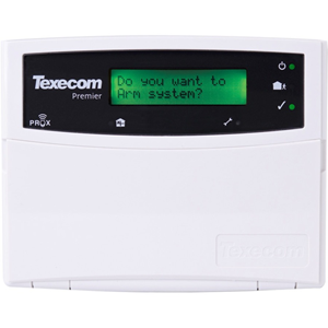Texecom Premier Security Keypad - For Control Panel