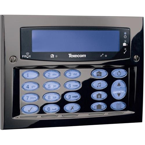 Texecom Premier Elite Security Keypad - For Control Panel - Gunmetal