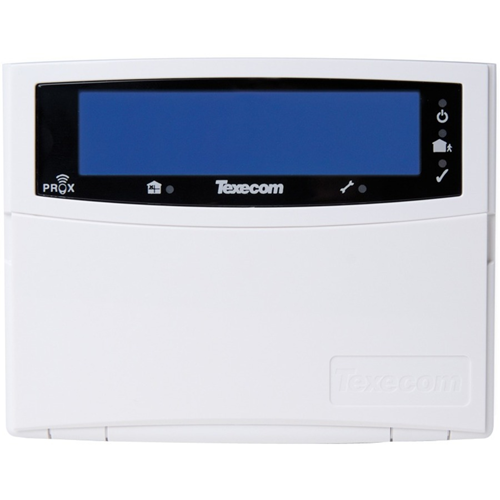 Texecom Premier Elite Security Keypad - For Control Panel - Polymer