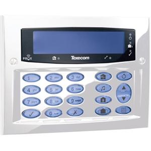 Texecom Premier Elite Security Keypad - For Control Panel - Diamond White