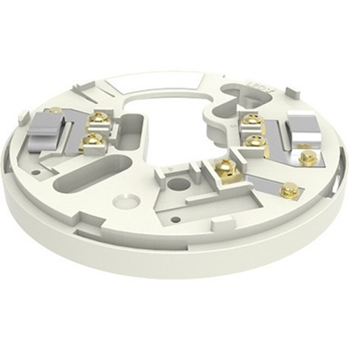 Hochiki YBN-R/3 Smoke Detector Base - For Smoke Detector - Stainless Steel, ABS - Ivory