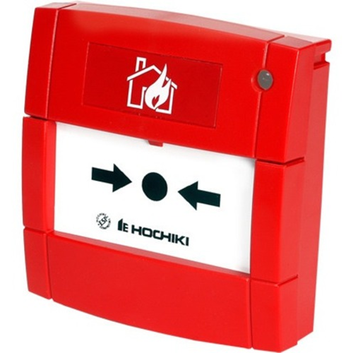 Hochiki HCP-E(SCI) Manual Call Point For Fire Alarm - Red - Plastic, Polyphenylene Oxide