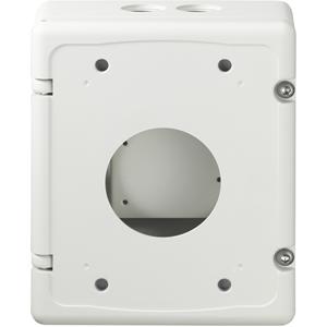 Hanwha Techwin SBP-300NB Mounting Box for Network Camera - Ivory