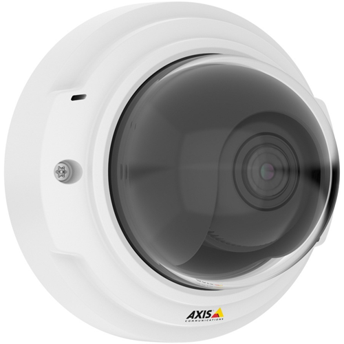 AXIS P3375-V Network Camera - Colour - H.264, Motion JPEG - 1920 x 1080 - 3 mm - 10 mm - 3.3x Optical - Cable - Dome
