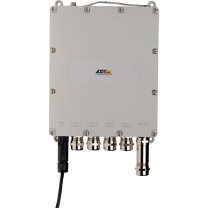 AXIS T8504-E 4 Ports Manageable Ethernet Switch - 2 Layer Supported - Modular - Twisted Pair, Optical Fiber