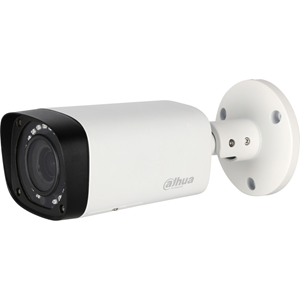 Dahua Lite 4.1 Megapixel Surveillance Camera - Colour - 29.87 m Night Vision - 2560 x 1440 - 2.70 mm - 13.50 mm - 5x Optical - CMOS - Cable - Bullet - Junction Box Mount, Pole Mount, Wall Mount, Ceiling Mount