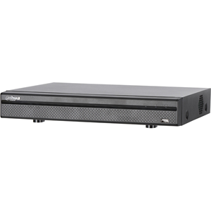 Dahua DHI-HCVR7104H-4K Video Surveillance Station - 4 Channels - Digital Video Recorder - H.264+, H.264 Formats - 30 Fps - Composite Video In - 1 Audio In - 1 Audio Out - 1 VGA Out - HDMI