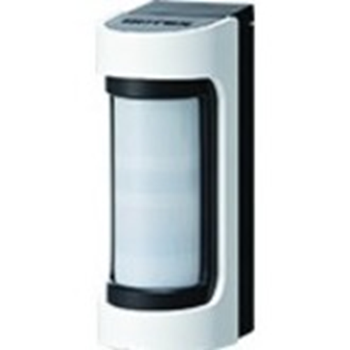 Optex VXS-RDAM-X8(W) Motion Sensor - Wireless - Infrared - Yes - 12 m Motion Sensing Distance - Wall-mountable, Pole-mountable - Outdoor