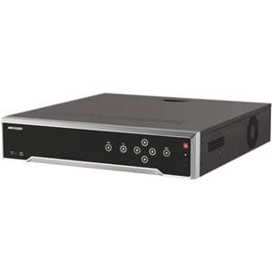 Hikvision DS-7716NI-K4/16P Video Surveillance Station - 32 Channels - Network Video Recorder - MPEG-4, H.264, H.265 Formats - 1 Audio In - 1 Audio Out - 1 VGA Out - HDMI