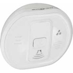 Honeywell Carbon Monoxide Alarm - Wireless - 85 dB - Audible - White