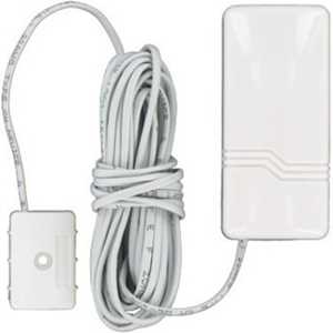 Honeywell DET8M Liquid Leak Sensor - Wireless - 3 V DC - Water Detection - Wall Mount