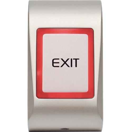 VIDEX MTTS-EXIT Push Button For Indoor/Outdoor - Silver - Die-cast Aluminum