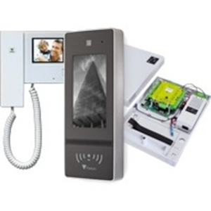 """Paxton Access Net2 Entry 17.8 cm (7"""") Video Door Phone Sub Station - Touchscreen LCD - Full-duplex - Door Entry"""