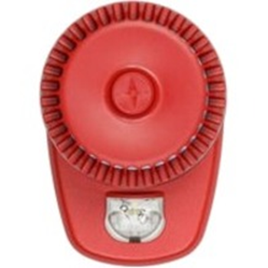 Fulleon RoLP LX Horn/Strobe - 28 V DC - 106 dB(A) - Audible, Visual - Wall Mountable - Red, White