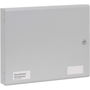 Kentec Sigma DocBox File Cabinet - 385 mm x 60 mm x 310 mm - A4 - Key Lock - Grey - Epoxy, Powder Coated - Steel