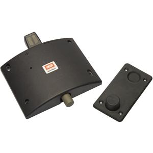 UNION DoorSense Doorstop - Battery Operated, Lightweight, Impact Resistant, Easy Installation - 207 mm x 194 mm x 43 mm - Black