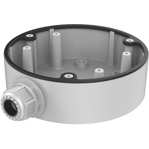 Hikvision DS-1280ZJ-DM21 Mounting Box for Network Camera - 4.50 kg Load Capacity - Black
