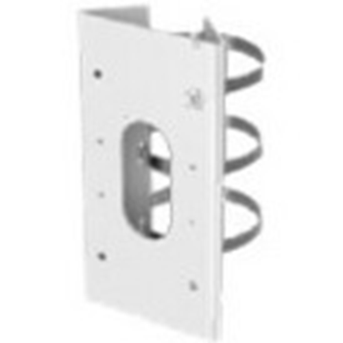 Hikvision Pole Mount for Network Camera - White