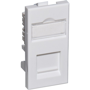 Connectix Faceplate Module - Polycarbonate, Acrylonitrile Butadiene Styrene (ABS) - Wall Mount