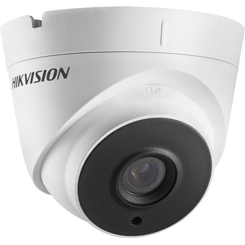 Hikvision Turbo HD DS-2CE56D8T-IT3E 2 Megapixel Surveillance Camera - Colour - 40 m Night Vision - 1920 x 1080 - 3.60 mm - CMOS - Cable - Turret - Wall Mount, Pole Mount, Corner Mount, Junction Box Mount, Ceiling Mount
