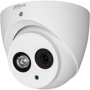 Dahua Lite HAC-HDW1400EM 4 Megapixel Surveillance Camera - Colour - 49.99 m Night Vision - 2560 x 1440 - 2.80 mm - CMOS - Cable - Pole Mount, Wall Mount, Junction Box Mount