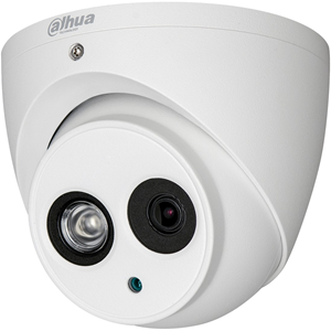 Dahua Lite HAC-HDW1400EM 4 Megapixel Surveillance Camera - 49.99 m Night Vision - 2560 x 1440 - 3.60 mm - CMOS - Cable - Pole Mount, Wall Mount, Junction Box Mount