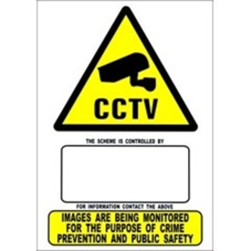 HAYDON Caution Sign - 154 mm Width - Rectangular Shape