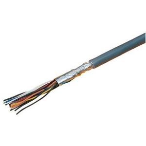 Excel Data Transfer Cable for Security Device, POS Device - 500 m - Bare Wire - Bare Wire - Grey