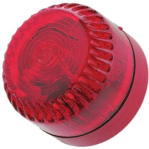 Fulleon Solex Security Strobe Light - Wired - 60 V DC - Visual - Red, Red
