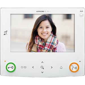 "Aiphone 17.8 cm (7"") Video Door Phone Sub Station - LCD - Door Entry"