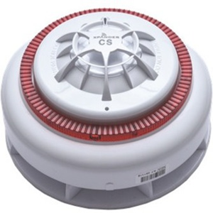 Apollo XPander Heat Alarm - Wireless - 3 V - 106 dB(A) - Audible, Visual - Wall Mountable, Ceiling Mountable - Red, White