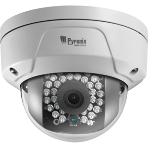 Pyronix 2 Megapixel Network Camera - Colour - 30 m Night Vision - H.264+, Motion JPEG, H.264 - 1920 x 1080 - 4 mm - Cable, Wireless - Mini Dome